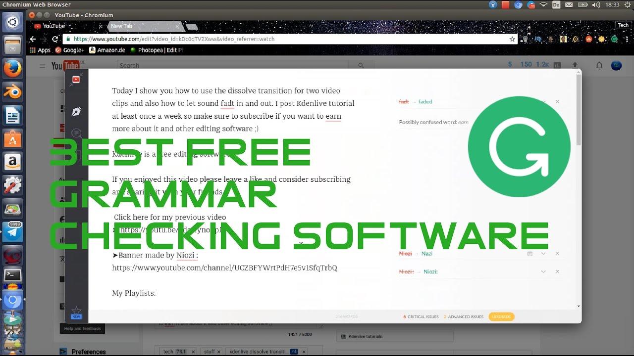 Offline grammar checker software free download.