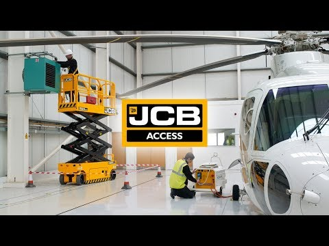 JCB Electric Scissors