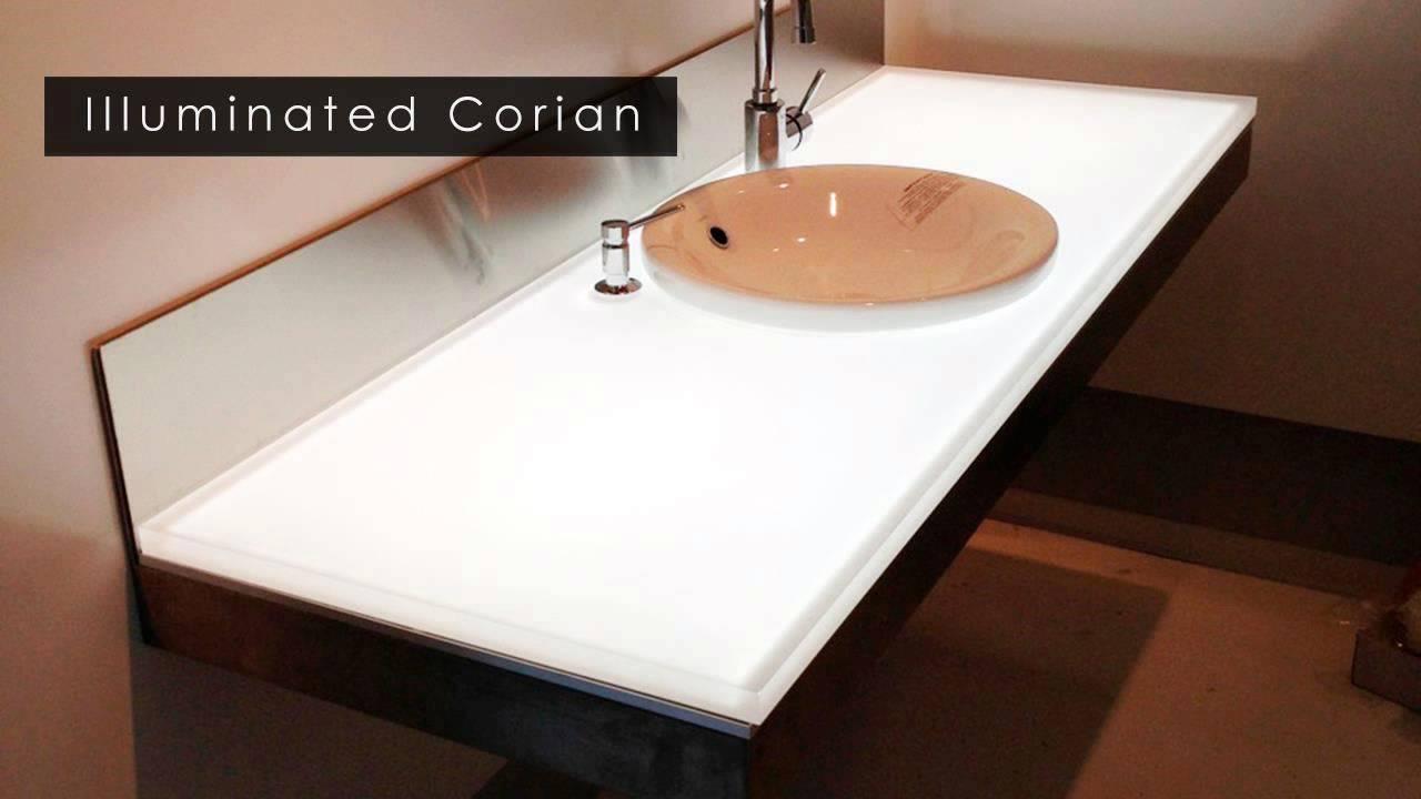 premium selection 01f55 a8cde Custom LED Light Panel | Backlit Onyx | Elumanation