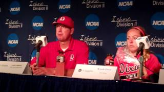 Dixie State Softball at NCAA Championships - Cal U game