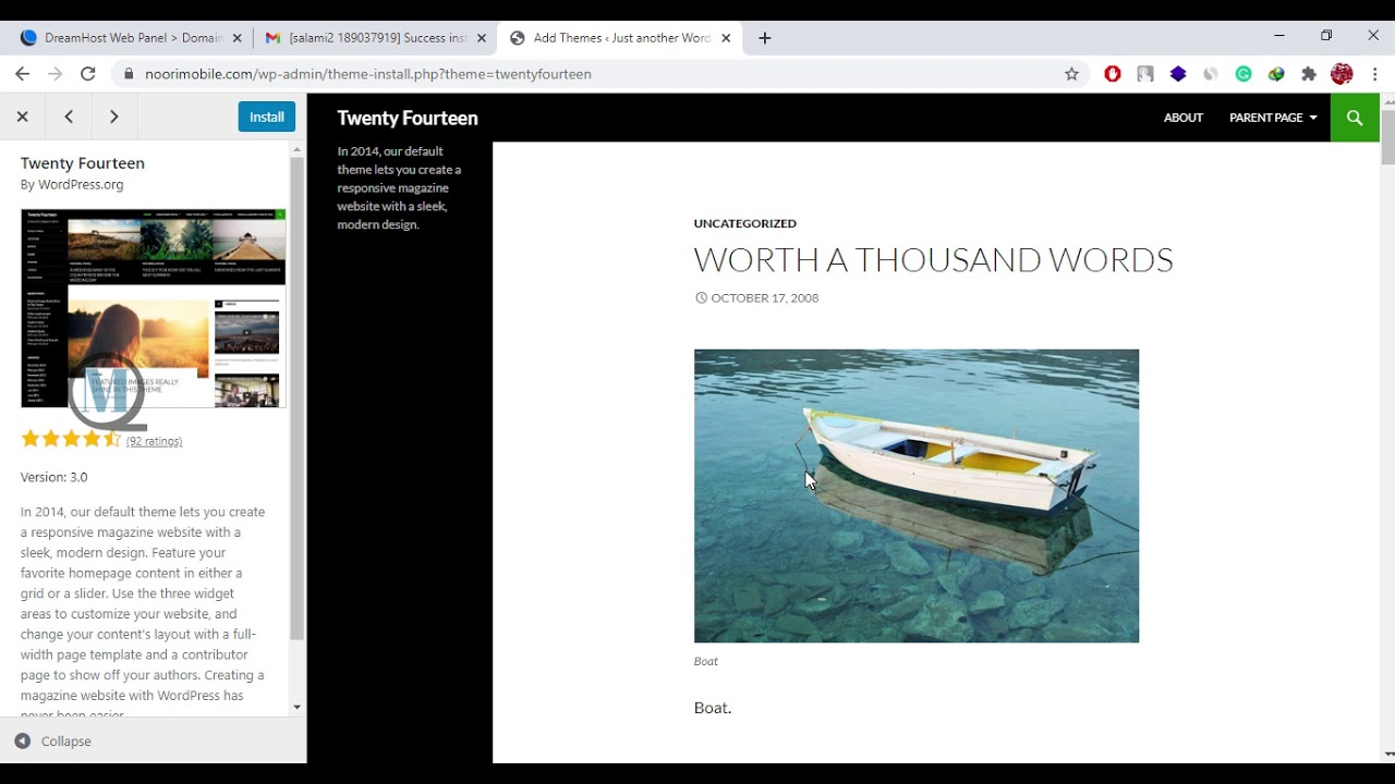 530+WordPress For Beginners – Basic Installation and Customization of ...