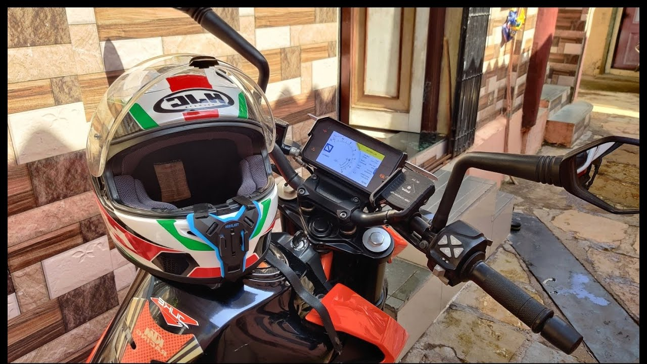Bobo Mobile Holder + Telesin Helmet Strap Mount |KTM Duke 390 | INDIA | Vlog #4