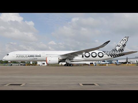 The Airbus A350-1000 Takes the Singapore Airshow Spotlight – AINtv