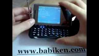 qwerty keyboard tv dual sim side kick mobile cell phone f480