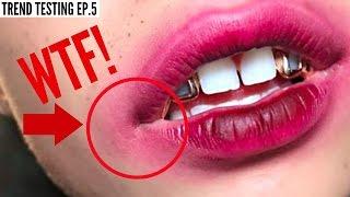 TESTING VIRAL LOLLIPOP LIP TREND!!!