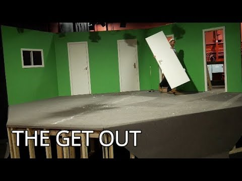Taking down a theatre set organising green room! S2 E167