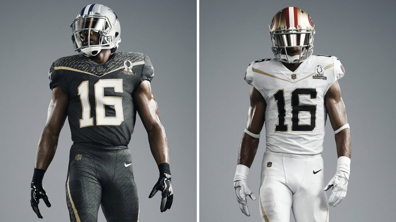 promo code 9bb9b 95f15 Nike To Debut New Uniforms at 2016 Pro Bowl | NFL Fan Pass