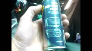 BMW GT F07замена фильтра