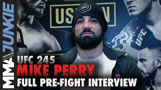UFC 245: Mike Perry full MMA Junkie interview