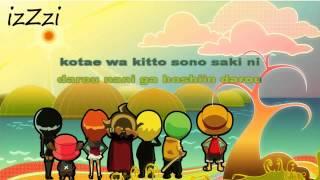 [ KARAOKE ] One Piece - Hikari e ( instrumental + lyrics )