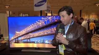 De cerca con el TV curvo Ultra HD de Samsung
