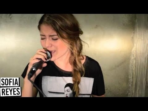 """Miley Cyrus """"Wrecking Ball"""" Cover - Sofia Reyes"""