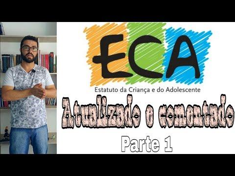 """ECA Atualizado 2018 (parte 1) Comentado artigo a artigo """"Das Disposições Preliminares"""""""