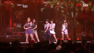 """080710 원더걸스 Wonder Girls LIVE """"Tell Me + So Hot & T…"""