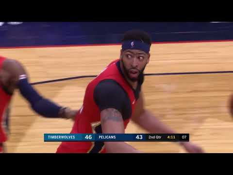 Pelicans' Anthony Davis Ejected from Game vs. Timberwolves