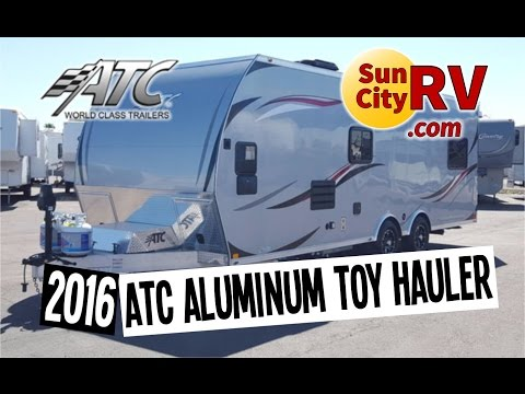 ATC Aluminum Trailer 8524+0-2T5.2K 2016 Toy Hauler For Sale | Sun City RV | Phoenix