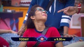 #DeepthiSunaina Cheema joke chepthe navvali..Navvandi mari 😂😏 #BiggBossTelugu2 Today at 9:30 PM