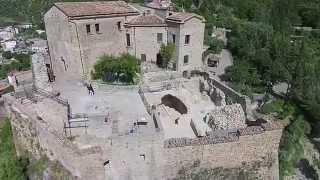 Il castello di Isabella Morra - I Castelli visti dal Drone (Ibam CNR, Tito Scalo, PZ)