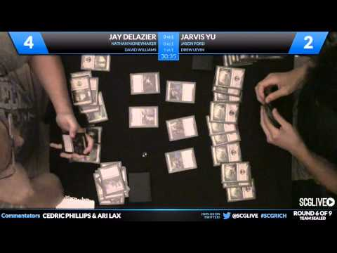 SCGRICH - Rd 6 - DeLazier/Moneymaker/Williams vs Yu/Ford/Levin
