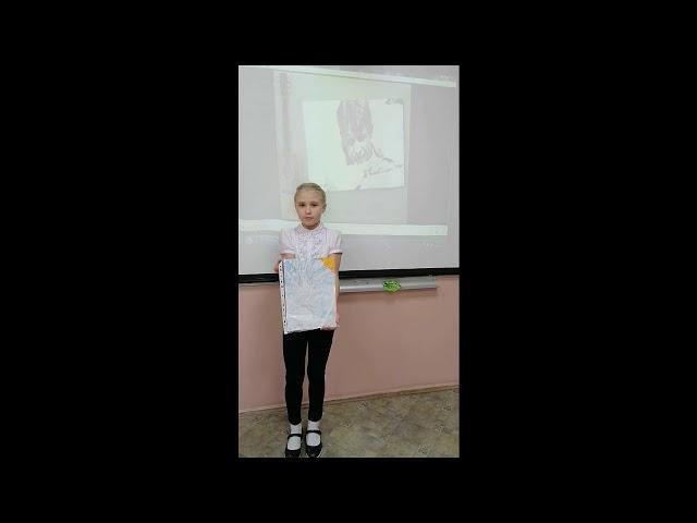 Изображение предпросмотра прочтения – МарияБаранова читает произведение «Берёза» С.А.Есенина