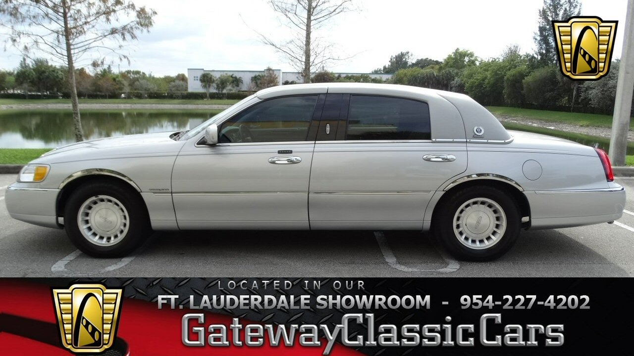 422 Ftl 2001 Lincoln Town Car Executive L Youtube