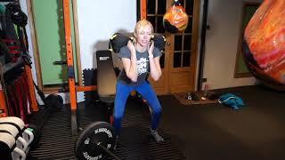 Barbell & Sandbag weight training 2