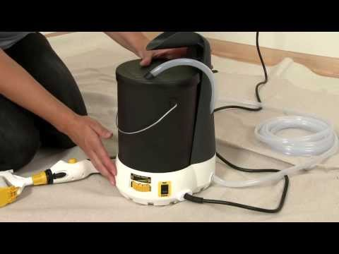 Electric Paint Roller - Wagner SMART Power Roller System