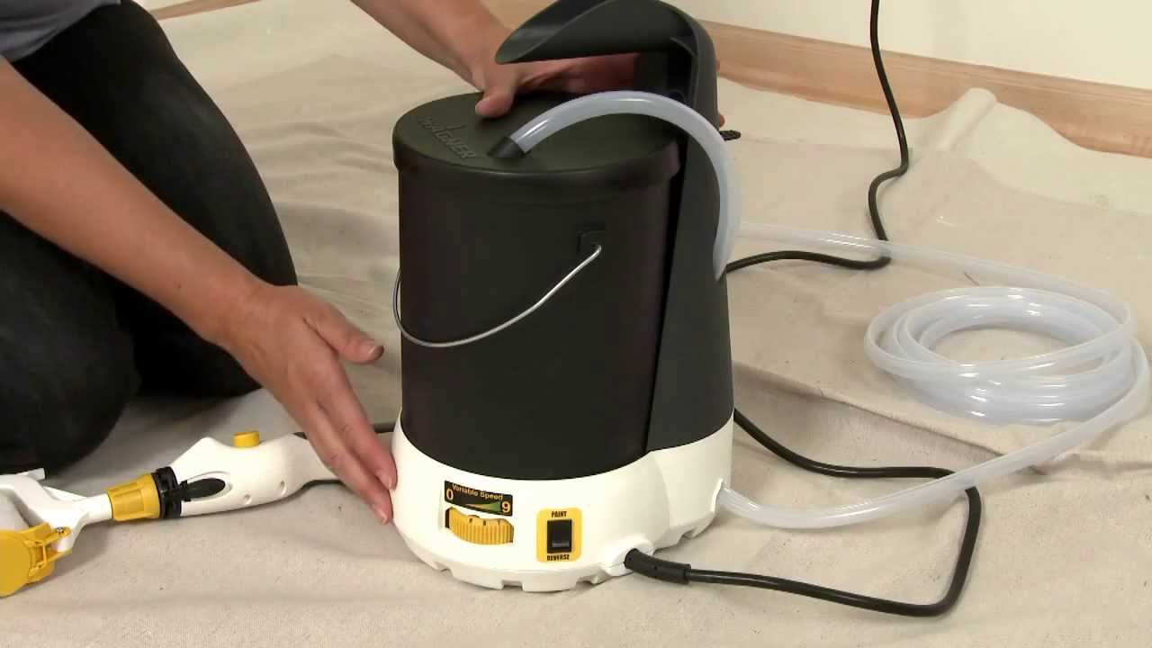 Electric Paint Roller Wagner Smart Power Roller System