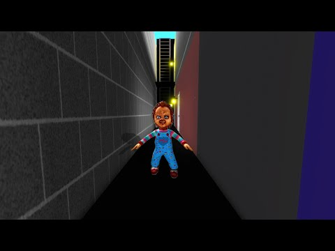 Chucky is MAD at us in Roblox BrookHaven