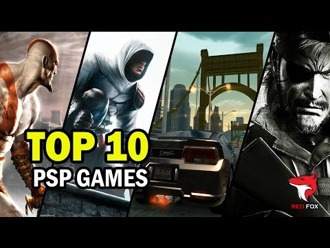 TOP 10 PSP GAMES of all time | 1080p HD