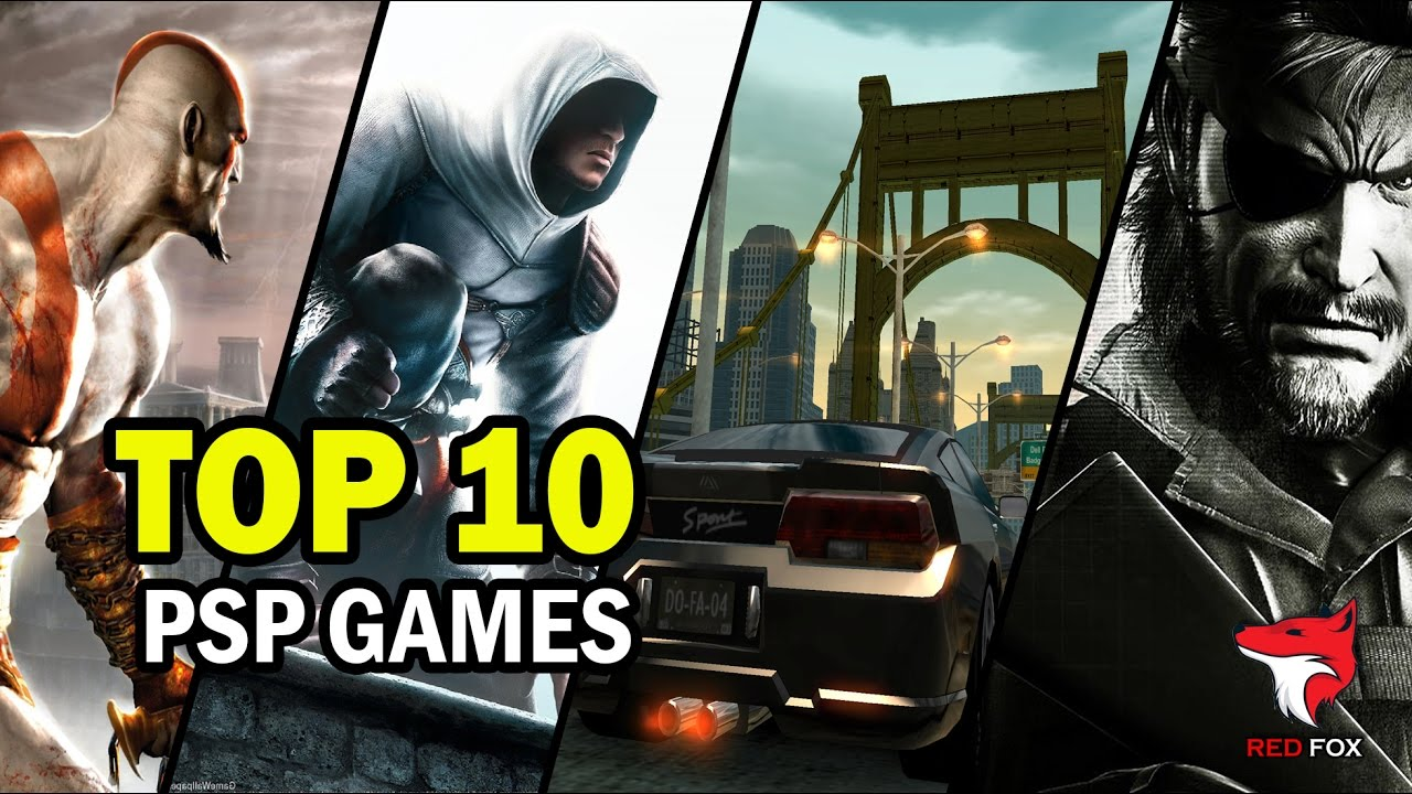 TOP 10 PSP GAMES of all time   1080p HD   YouTube