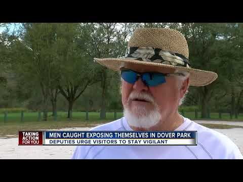 Men caught exposing themselves in Dover Park