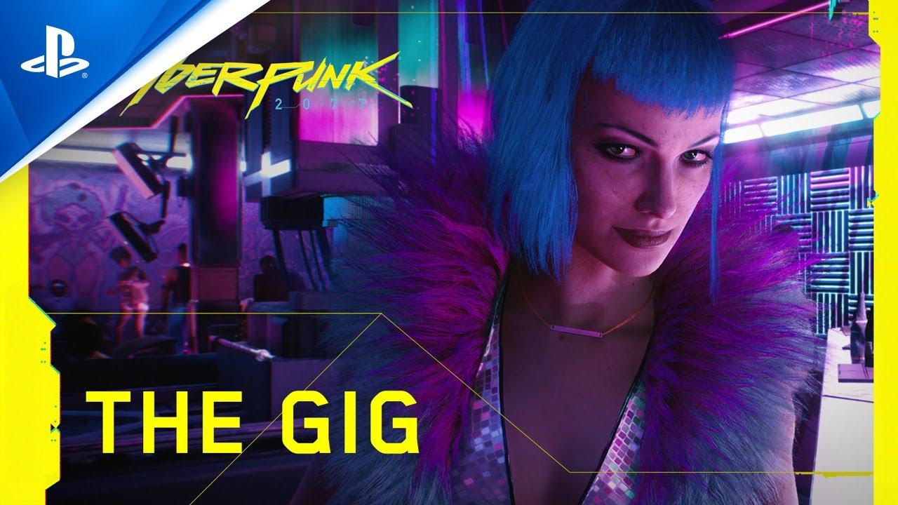 Cyberpunk 2077 | The Gig | PS4 - YouTube
