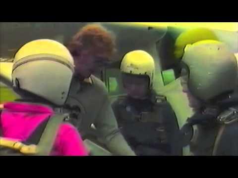Parachute Jump Sibson's Airfield 1981