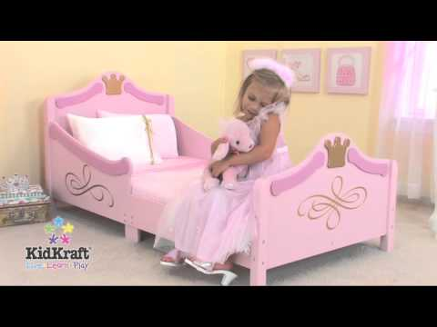 Kidkraft 76139 lettino principessa youtube - Letto principessa ...