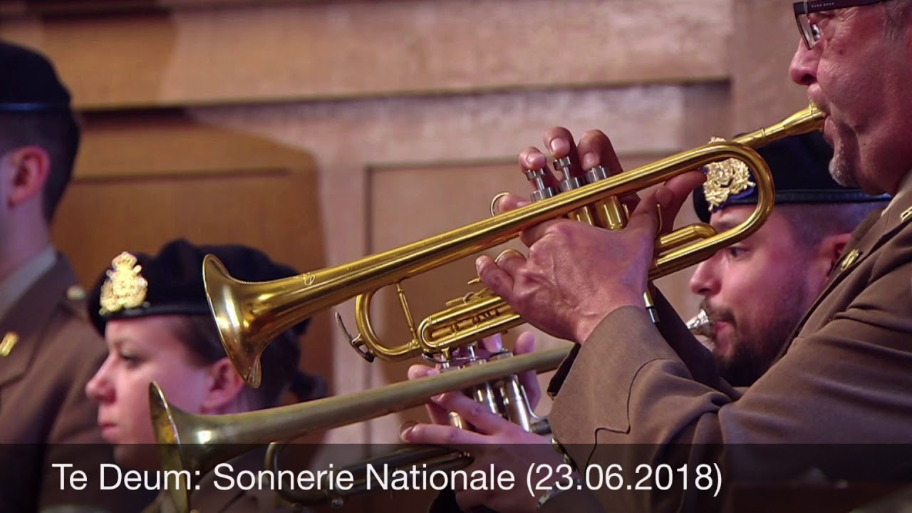 Te Deum: Sonnerie Nationale (23.06.2018)