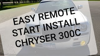 FlashLogic FLRSCH5 Remote Start Installation (2005 - 2007) Chrysler 300C