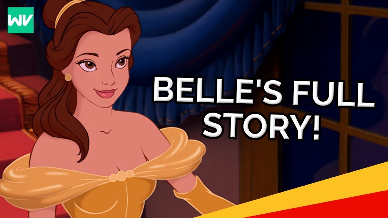 Belle S Full Story Beauty And The Beast Discovering Disney