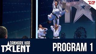 'DTDT' Taekwondo show fra Valby - Danmark har talent - Program 1