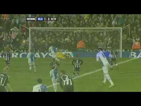 Blackburn 3-0 Newcastle - 17.01.2009 EPL