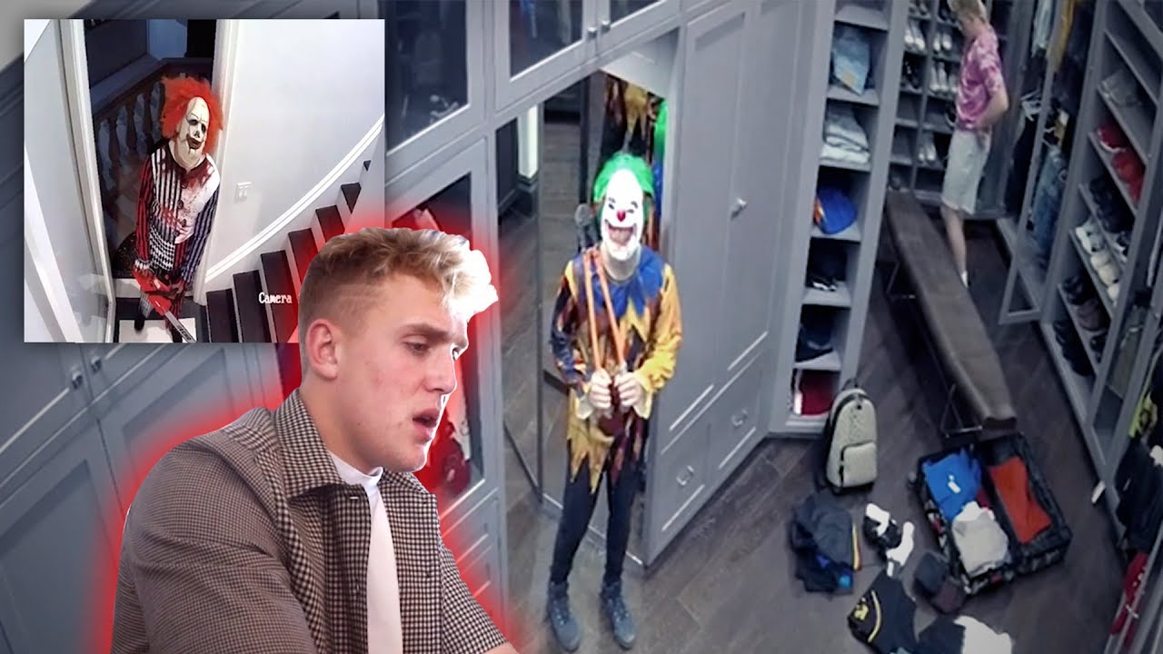 Download 2 KILLER CLOWNS BROKE INTO THE TEAM 10 MANSION! **SECURITY FOOTAGE**