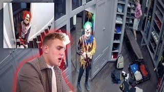 One of Jake Paul's most viewed videos: 2 KILLER CLOWNS BROKE INTO THE TEAM 10 MANSION! **SECURITY FOOTAGE**