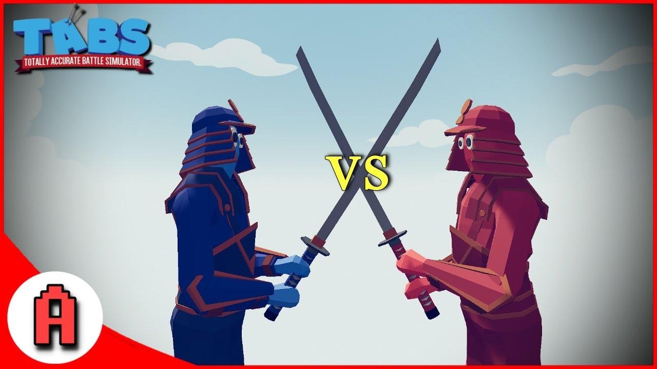เล่นเบบ 1 vs 1 จะเป็นยังไง? - totally accurate battle simulator  [เกมบักตัวอ่อน]
