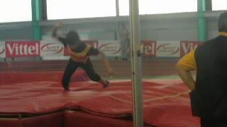 RP Hélène Kong lors du matche interligues - 2m90