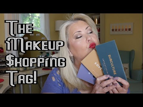 THE MAKEUP SHOPPING TAG | 10 Questions Answered | Makeup Queenie68 thumbnail