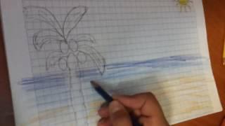 Comment dessiner un plage avec angel