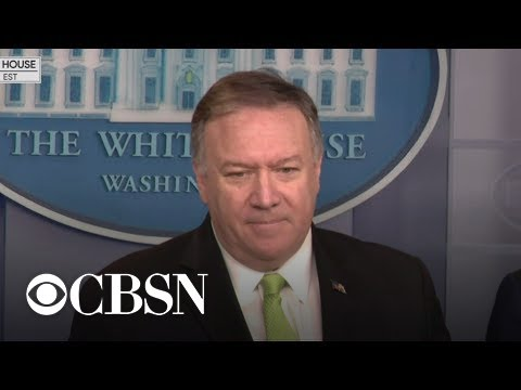 "Pompeo says there was an ""imminent threat"" to U.S.embassies ahead of Soleimani strike"