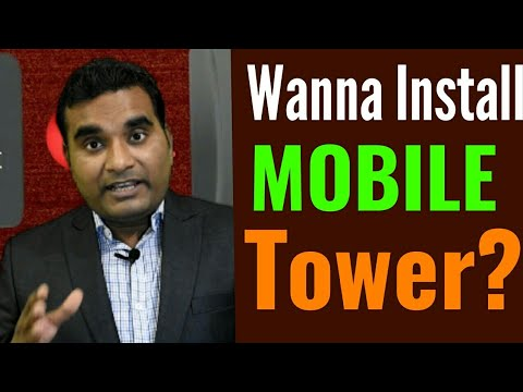 How To Apply For Mobile Tower Installation In Hindi | Jio Tower Installation