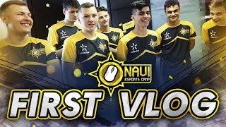 NAVI Esport Camp - Первый Влог