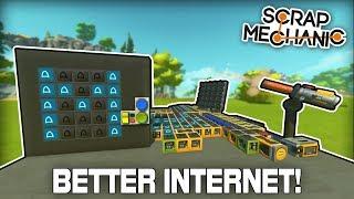 Spudnet 2.0: The Internet of the Future! (Scrap Mechanic #323)